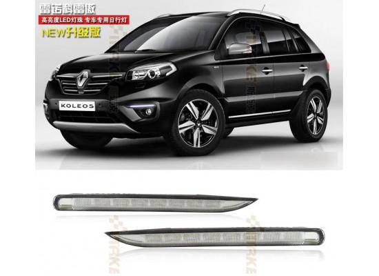 ДХО для Renault Koleos 2011-16 (оба рестайлинга) Вариант 1 (фото)