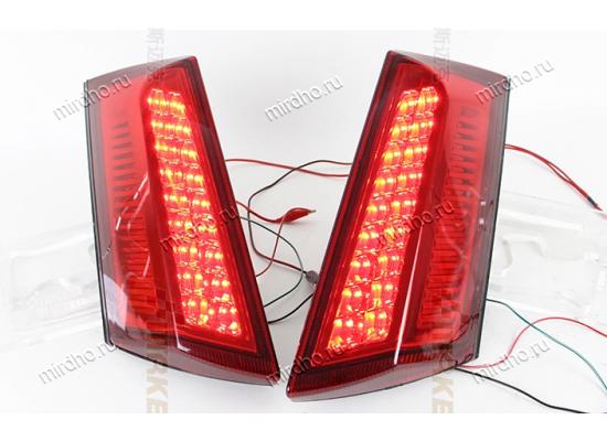 Задние габариты + дополнительные стоп сигналы Ford Ecosport