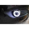 Противотуманные фары с ангельскими глазками для Ford Focus 2 Рестаилинг 08-10