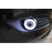 Противотуманные фары с ангельскими глазками для Ford Focus 2 Рестаилинг 08-10 (фото)