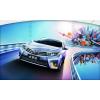ДХО для Toyota Corolla 11 2013-16 с поворотниками. Вариант 6 (фото)
