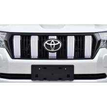 Тюнинг решетки радиатора для Toyota Land Cruiser Prado 150 2017-по н.в. Рестайлинг 2 (фото)