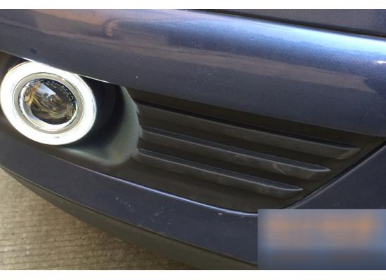 Противотуманные фары с ангельскими глазками для Ford Focus 05-08