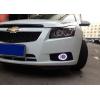 Противотуманные фары с ангельскими глазками для Chevrolet Cruze 2009-2013