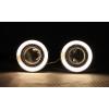Противотуманные фары с ангельскими глазками для Chevrolet Cruze 2009-2013 (фото)