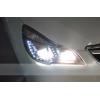 Фары для Subaru Outback 4 2009-2012. Вариант 2 (фото)