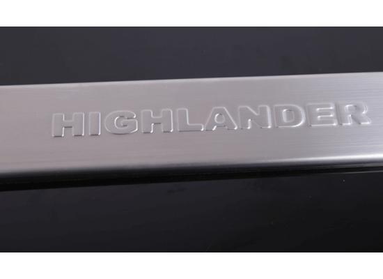 Накладки на пороги для Toyota Highlander 2 и Рестайлинг 2007-13
