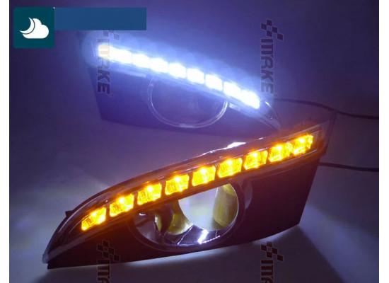 ДХО для Chevrolet Captiva 2011-2013 Вариант 1