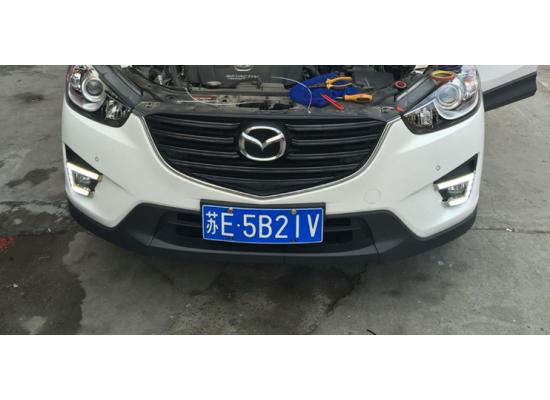 ДХО для Mazda CX 5 2011-2017 вариант 6 (фото)
