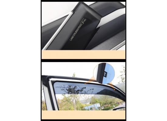 Дефлекторы окон для Toyota Land Cruiser Prado 2009- по н.в. (фото)