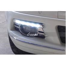 ДХО для Mercedes-Benz C-klasse до рестайлинг 06-10г.в. вариант А (фото)