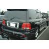 Задние габариты (ДХО) и доп. стоп сигналы в задний бампер для Toyota Land Cruiser 100 (фото)