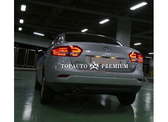 Задние фонари на Renault Fluence 1 2010-12 (фото)