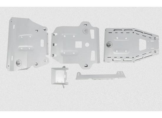 Мощная штатная внедорожная защита двигателя и КПП для Toyota Land Cruiser Prado 2009- по н.в. (фото)