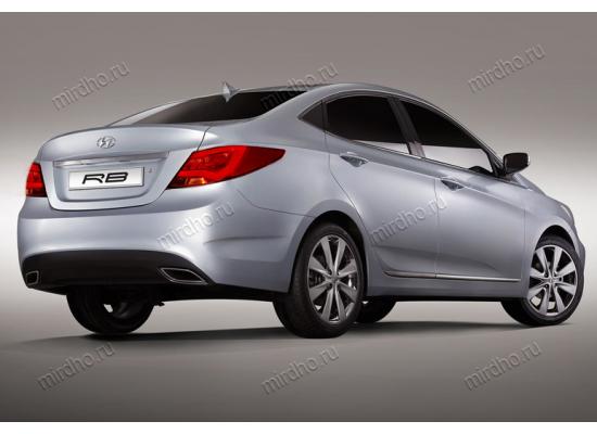 Задние фонари для Hyundai Solaris. Вариант 2 (фото)