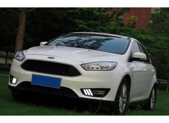ДХО для Ford Focus 3 Рестаилинг 2015+. Вариант 1 (фото)