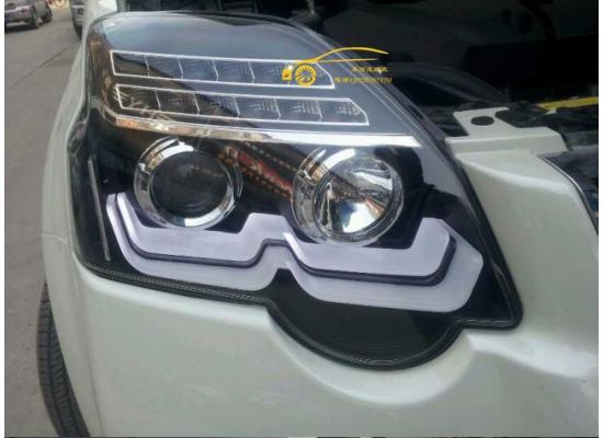 Фары для  Nissan X-Trail 2 Рестаилинг 2010-15. Вариант 2 (фото)