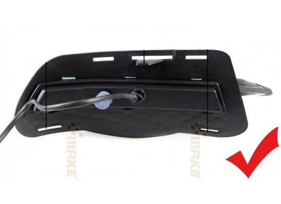 ДХО для Mercedes-Benz C-klasse до рестайлинг 06-10г.в. вариант В (фото)