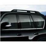 Хромированные накладки на окна для Toyota Land Cruiser Prado 2009- по н.в.