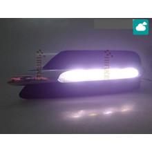 ДХО для Mercedes-Benz C-klasse 11+ рестайлинг вариант 1 (фото)