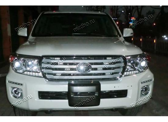 ДХО для Toyota Land Cruiser 200 Рестаилинг 2012-15 врезные