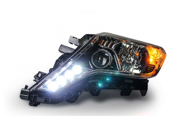 Фары для Toyota Prado 2013- по н.в. Вариант 1 под оригинал