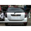 Хромированная накладка на низ двери багажника для Chevrolet Captiva (фото)
