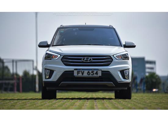 Фары для Hyundai Creta. Вариант 1 (фото)