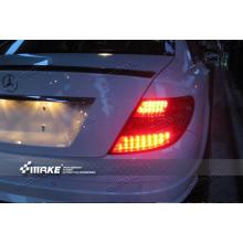 Задняя оптика для Mercedes-Benz C-klasse 07-10 г. в. вариант 1 (фото)