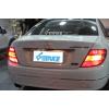 Задняя оптика для Mercedes-Benz C-klasse 07-10 г. в. в стиле рестаилинга после 2010