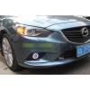 Противотуманные фары с ангельскими глазками для Mazda 6 2012-15