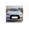 Противотуманные фары с ангельскими глазками для Mitsubishi Lancer X 2011-2015