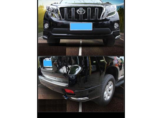 Тюнинг бамперов для Toyota Land Cruiser Prado 150 2013-17 Рестайлинг 1 (фото)