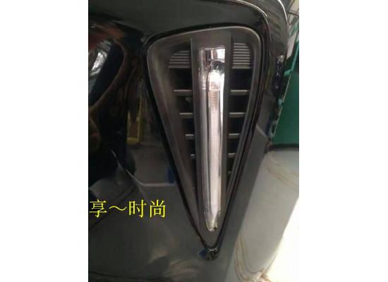 ДХО для Toyota Camry 7 Рестаилинг 2014-2017. Вариант 1 (фото)
