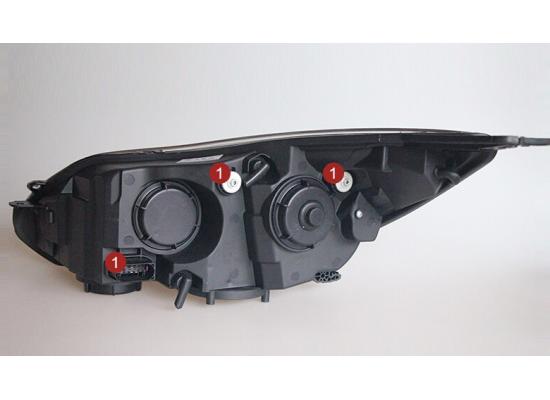 Фары для Ford Focus 3 2011-15 дорестайлинг. Вариант 11