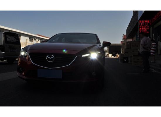 Фары для Mazda 6 Дорестаилинг 2012-15. Вариант 3 копия оригинала (фото)