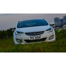 Фары для Hyundai Elantra 5 MD2011-14 и Рестаилинг 2014-16. Вариант 1 (фото)