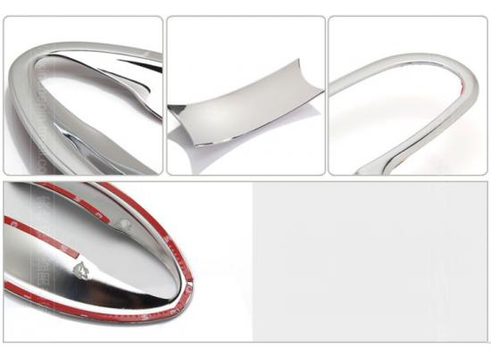 Хромированные накладки под ручки авто для Mazda CX 5 (фото)