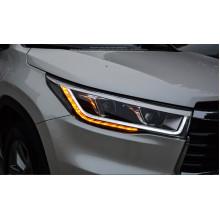 Фары для Toyota Highlander 3 2013-16. Вариант 2 (фото)