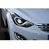 Фары для Hyundai Elantra 5 MD2011-14 и Рестаилинг 2014-16. Вариант 2