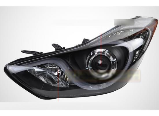 Фары для Hyundai Elantra 5 MD2011-14 и Рестаилинг 2014-16. Вариант 2 (фото)