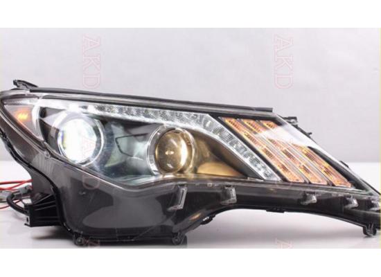 Фары для Toyota RAV4 2013-2015 Вариант 1 (фото)