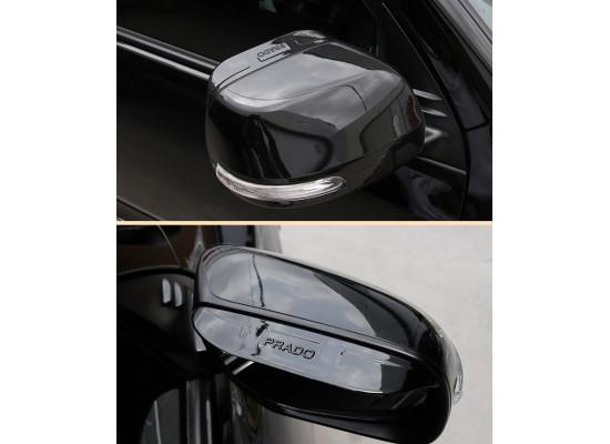 Козырьки на зеркала для Toyota Land Cruiser Prado 150 2009- по н.в. (фото)