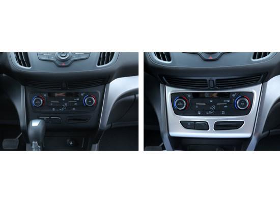 Накладка на управление климатом для Ford Kuga 2 2012-16 (фото)
