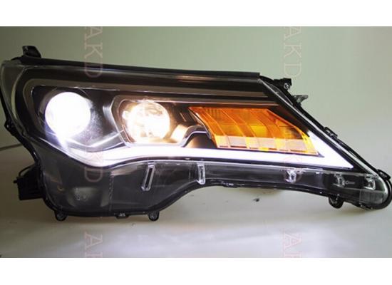 Фары для Toyota RAV4 2013-2015 Вариант 2 (фото)
