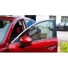 Хромированные накладки на окна для Mazda CX 5 2011 - 2017 1 и 1 рестайлинг (фото)