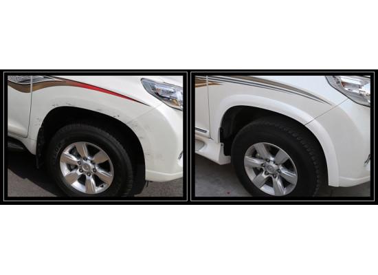 Расширители арок для Toyota Land Cruiser Prado 150 Рестайлинг 1 и 2 2013-по н.в.