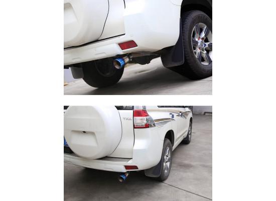 Насадка на глушитель для Toyota Land Cruiser Prado 120 и 150 2002-по н.в. (фото)
