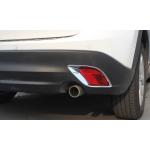 Хромированные накладки на задние ПТФ для Mazda CX 5