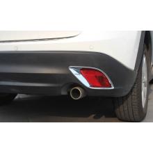 Хромированные накладки на задние ПТФ для Mazda CX 5 (фото)